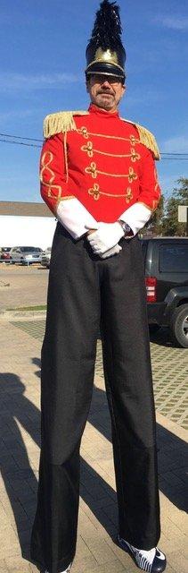 Stilt Walker soldier image